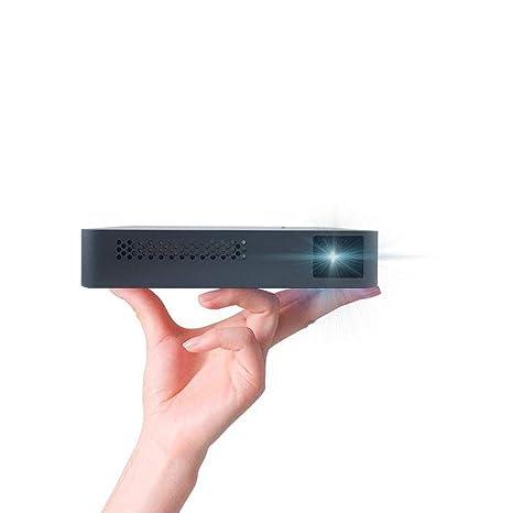 JJZXZQ Cubo Forma Proyector Portátil Inteligente HD 1080P del ...