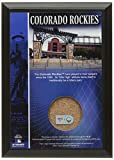 MLB Colorado Rockies Coors Field 4x6 Dirt Plaque