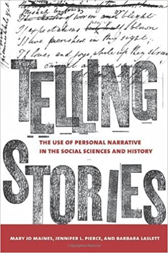 Book Telling Stories: The Use of Personal Narratives in the Social Sciences and History by Mary Jo Maynes (2008-07-17)