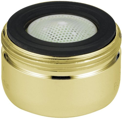 Delta Faucet RP330PB Aerator for 2.2 GPM, Polished Brass by DELTA FAUCET