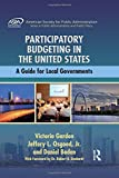 img - for Participatory Budgeting in the United States: A Guide for Local Governments (ASPA Series in Public Administration and Public Policy) book / textbook / text book
