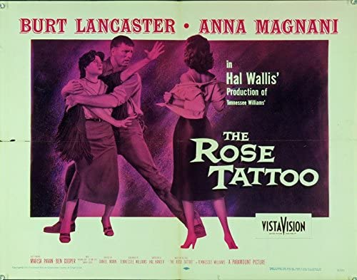 The Rose Tattoo (1955) Original Movie Poster at Amazon's Entertainment  Collectibles Store