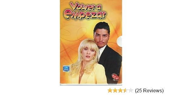 Amazon.com: volver a empezar 4 dvds set by Yuri: Yuri;Chayanne;Pilar Montenegro: Movies & TV