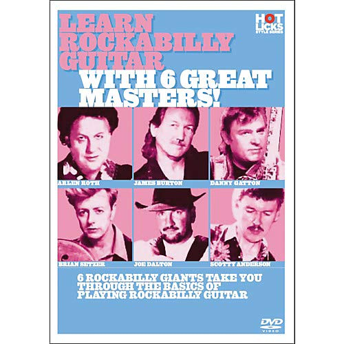 Learn Rockabilly Guitar with 6 Great Masters DVD Pack of 2