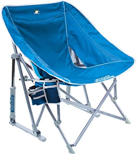 GCI Outdoor Waterside Pod Rocker Collapsible Rocking Chair