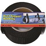 "Cambridge Duct Support Webbing 50' x 1- 3/4"" Black"