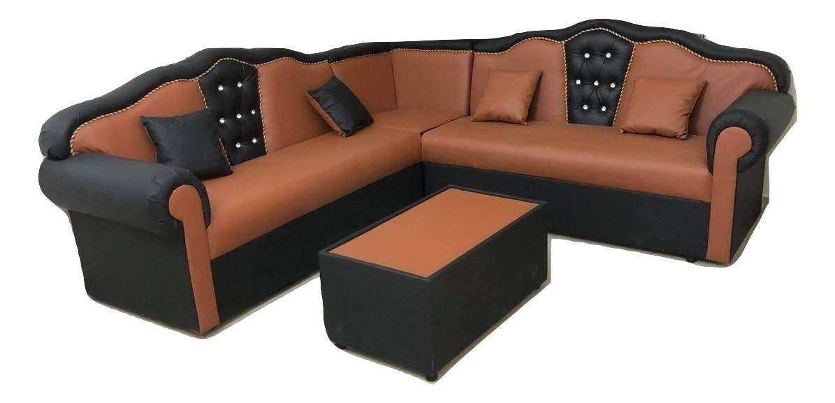 L-Shaped Sofa Set, 250 x 250 cm Price in UAE | Amazon.ae ...