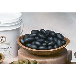Amazon.com : Black Cerignola Olives - 5.5 Lb : Black Olives Produce