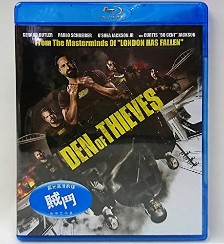 Den Of Thieves (Region A Blu-Ray) (Hong Kong Version / Chinese subtitled) 賊鬥