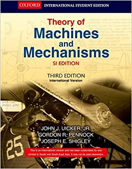 Shigley ebook theory machines and download mechanisms of