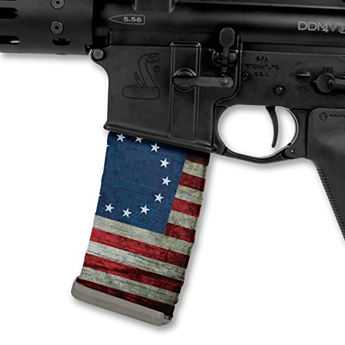 (Rapid Wraps Mag Wraps - Heritage Betsy Ross Flag (3 Pack))