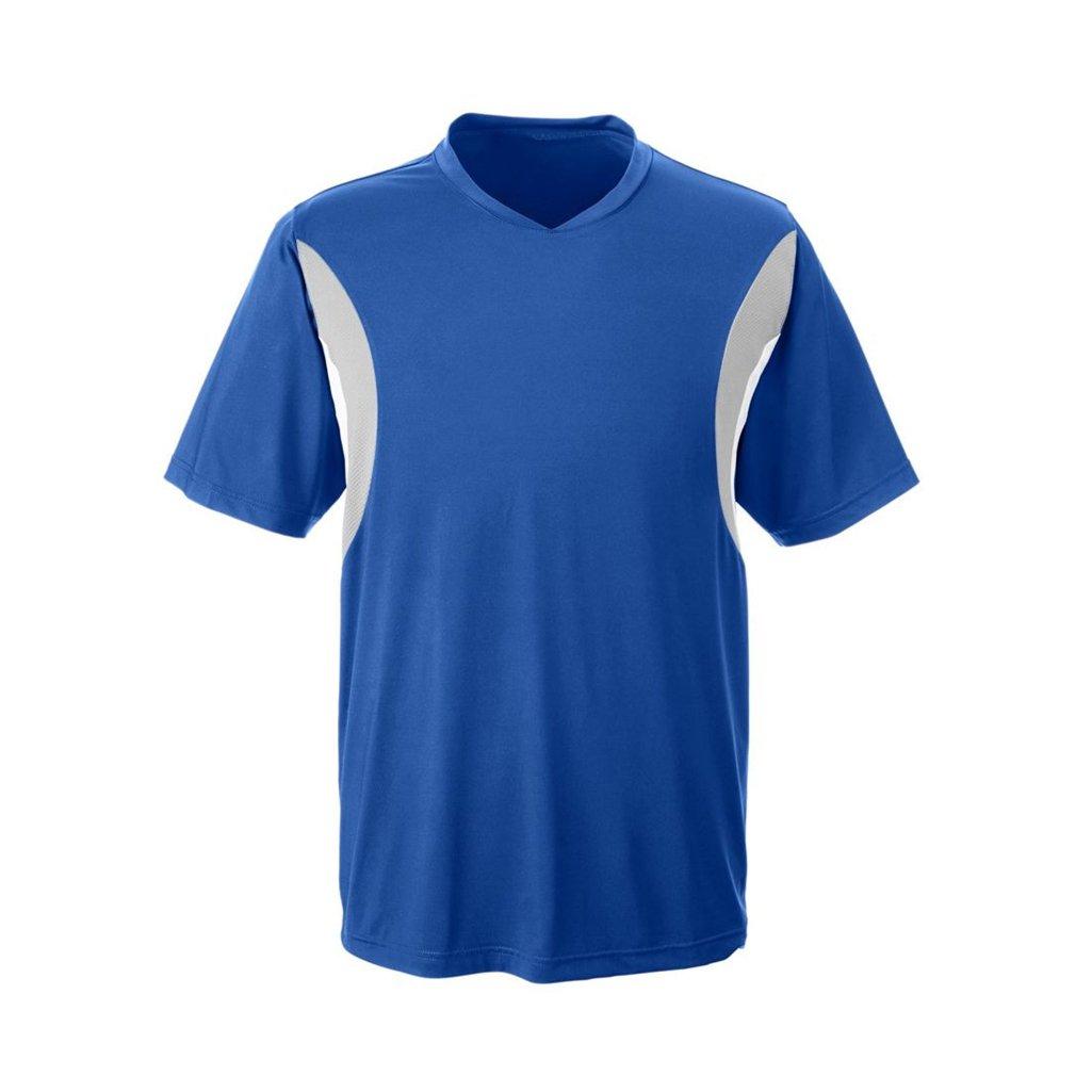 Ash City Apparel Team 365 Mens Short-Sleeve Athletic V-Neck All Sport Jersey (X-Large, Sport Royal) by Ash City Apparel