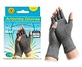 Brown Medical (a) Imak Arthritis Gloves-Large/Pr
