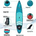 XYSQWZ-Set-SUP-da-Crociera-Stand-Up-Paddle-Gonfiabile-6-Spesso-Supporto-per-Action-Cam-Pagaia-in-Alluminio-Pompa-Ad-Aria-Zaino-Guinzaglio-Diverse-Dimensioni-126-11614-10