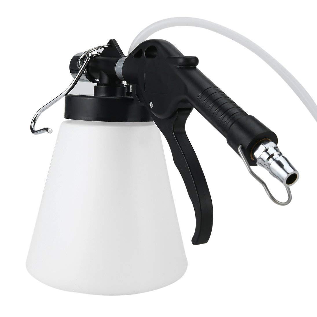 Baynne 87-174psi Air Pressure 0.75L Air Brake Bleeder Kit Pneumatic Brake Clutch Vacuum Hydraulic Fluid Fill Bottle Kit Accessory by Baynne (Image #5)