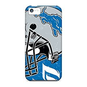 New Shockproof Protection Case Cover For Iphone 5c/ Detroit Lions Case Cover