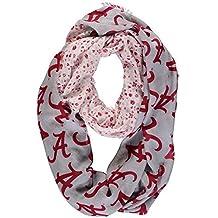 NCAA Alabama Crimson Tide Floral Infinity Scarf