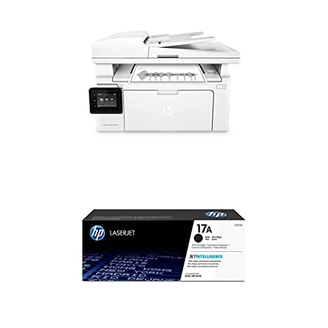 HP LaserJet Pro MFP M130fw + CF217A , toner color negro: Amazon.es ...