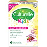 Culturelle Kids Chewables Daily Probiotic Formula, One Per Day Dietary Supplement, Contains 100% Naturally Sourced Lactobacillus GG –The Most Clinically Studied Probiotic, 30 Count(Package may vary)
