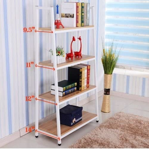 Heavy Duty Metal Home Decorate Bookcase