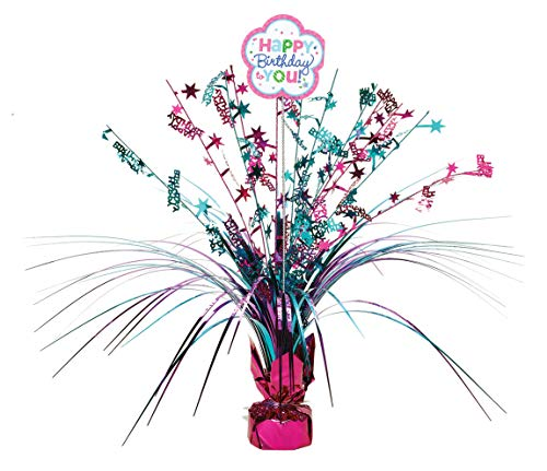 Spray Centerpiece | Purple & Teal Collection | Birthday]()