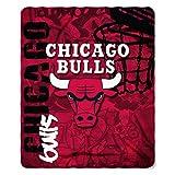 NBA Chicago Bulls Hard Knocks Printed Fleece Throw, 50' x 60'