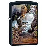 Zippo Blaylock Painting Cascade Eagles Lighter Custom Made