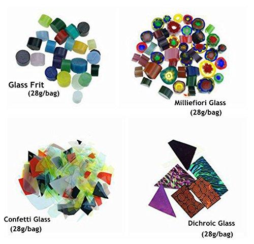 8pcs Set of Large Microwave Kiln Kit For Glass Fusing In Microwave Kiln