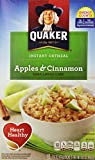 Quaker Instant Oatmeal, Apples and Cinnamon, 10 ct Review