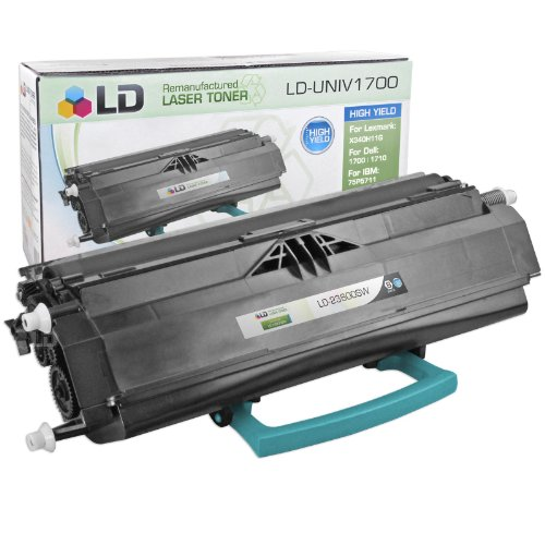 LD Remanufactured High Yield Black Laser Toner Cartridge for Lexmark 23800SW (E238 Series Printers)