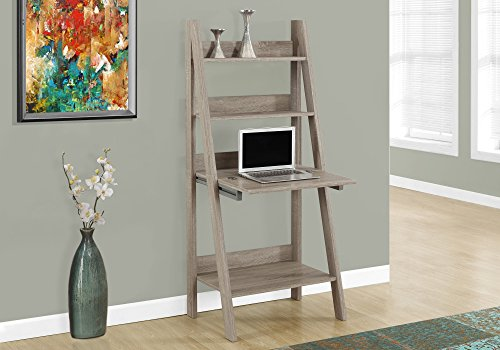Ladder Bookcase Desk (Monarch Ladder Style Computer Desk, 61