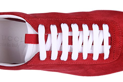 9a638eee71e Gucci men s shoes suede trainers sneakers softy tek red - Buy Online ...