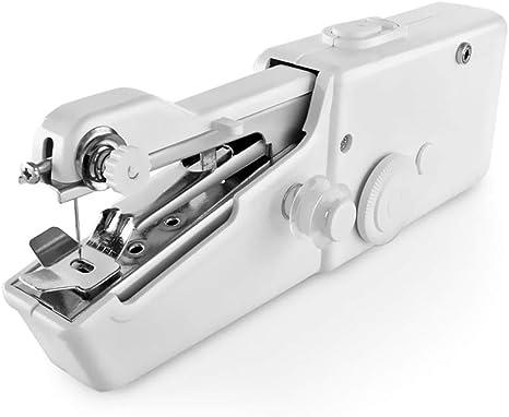 FRJYJLLL Máquinas de Coser de Mano portátiles Coser Coser ...