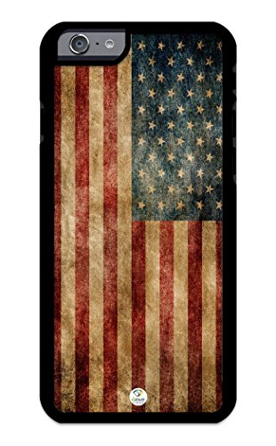 iZERCASE i7r002BAA iPhone 7 Case [American Flag USA Flag] for Apple iPhone 7 - Black from iZERCASE