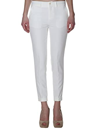 liu jo online shop, LIU •JO JEANS Pantaloni Bianco Donna e