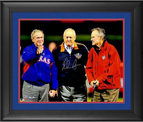 Nolan Ryan Texas Rangers Framed Autographed 16