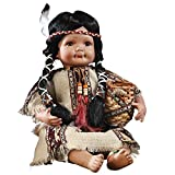 Women's Indian Southwest Collectible Porcelain Doll