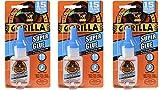 Gorilla Super Glue, 15 g, Clear, (3 Pack)
