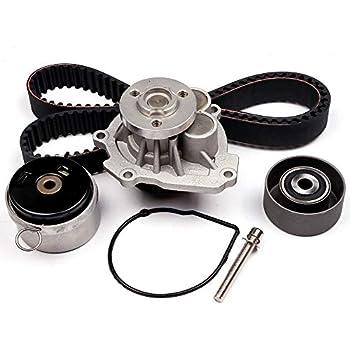 ECCPP New Timing Belt Water Pump Kit Fit for 2008-2014 Chevrolet Aveo Cruze Sonic Aveo5 Pontiac G3 Wave Saturn Astra Suzuki Swift+ 1.6L 1.8L 4Cyl