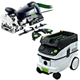 Festool DF 700 Domino XL Set + CT 36 Dust Extractor Package