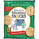 Dick & Jane Educational Snacks   ENGLISH & SPANISH - 120 bags featuring Bilingual featuring the numbers 1-10 plus 50 vocab wo