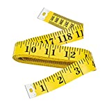 Bestty 120 inches Double Scale Soft Tape Measure Flexible Ruler for Weight Loss