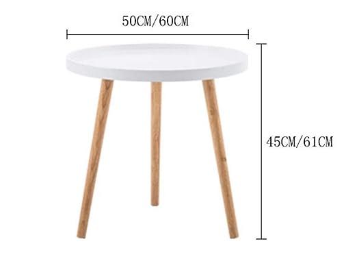 Mesa redonda pequeña mesa de café anidada decoración de ...