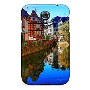 Awesome Design Strasbourg Corner Hard Case Cover For Galaxy S4