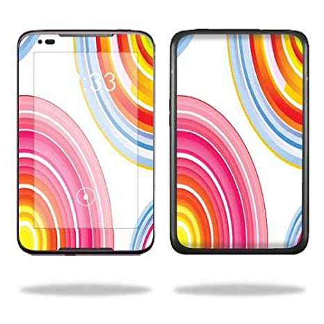 MightySkins Protective Skin Decal Cover for Lenovo IdeaTab A1000 7-Inch  Tablet wrap sticker skins Lollipop Swirls