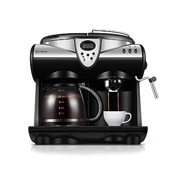 Cafeteras de Espresso automáticas Máquina de café Totalmente automática, máquina de Espuma de Vapor, máquina de café Comercial integrada, máquina de té ...