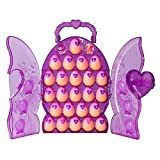 SpinMaster Hatchimals Colleggtibles Set & Glittery Purple Collectors Case with 2 Exclusive Hatchimals Colleggtibles & 24 Eggs, Multicolor