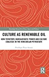 "Penelope Plaza Azuaje, ""Culture as Renewable Oil: How Territory, Bureaucratic Power and Culture Coalesce in the Venezuelan Petrostate"" (Routledge, 2018)"