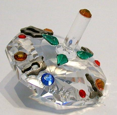 Swarovski Crystal Dreidel Proud Jews