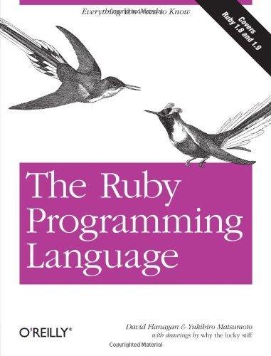 The Ruby Programming Language by David Flanagan (2008-02-04)